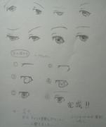 目の描き方~アナログ~
