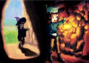 寄り道洞窟探検