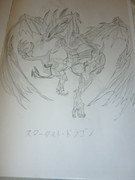 【よぉ】スターダスト・ドラゴン描いてみた