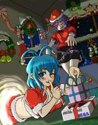 キョンシーはクリスマスプレゼントの夢を見るか?