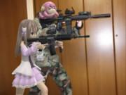 ミルフィーユ・スフレと射的屋狩り