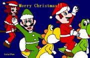 クリスマス用ポストカードその2