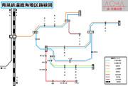 青葉鉄道臨海地区路線図