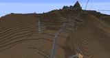 【Minecraft】 安土城を山ごと再現中 其ノ七