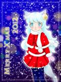 クリスマス看板娘