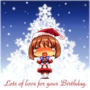 皆で祝おう天使のbirthday