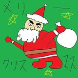 サンタクロース 描いてみた