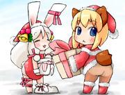 ポメとアサとクリスマス