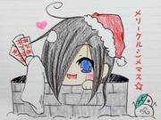 貞子サンタからのプレゼント