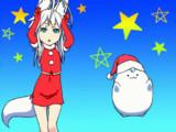 【GIFアニメ】ウマウマでメリークリスマス