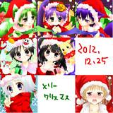 今年描いたクリスマスカット(*´ω`*)