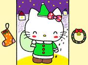 サンタキティがやってきた! ~グリーンカラー&にっこりおめめ~