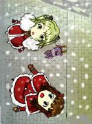 エリーゼと春香のホワイトクリスマス