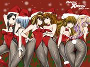2012年クリスマス記念イラスト壁紙
