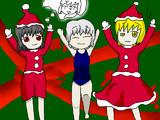 2012年クリスマス記念絵