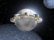 依光隆氏へ追悼を込めて~アルコン式宇宙船を描く~