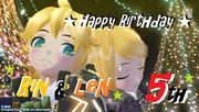 Rin&Len HappyBirthday!!!