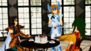 宝瓶宮でお茶を
