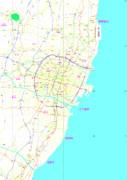 日下部市(架空地図)