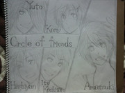 Circle of friends 好きすぎて描いてみた