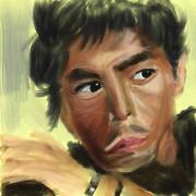 伊藤英明さんの写真の模写
