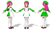 【MMD】モブ子さんUTAU中2.5【モブ式桃音モモ】