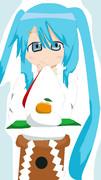 雪ミク2013 あけおめ