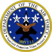 MMD空軍の紋章作ってみた