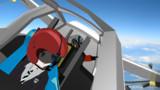 MMD飛行訓練学校,初音ミク飛行訓練中 1