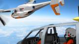 MMD飛行訓練学校,初音ミク飛行訓練中 2