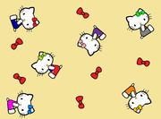 キティ ~壁紙01/大好きリボン~