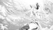 Angel bless (monochrome ver.)