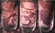 レミリアグラスを彫ったよ(7作目)