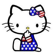 キティ ~星条旗柄~