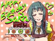お誕生日おめでとうございます♪莎良さん