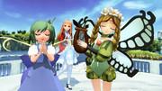 【MMD】一緒に歌おう【メルセデス&大妖精&レア様】