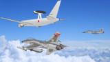 空自AWACSクルーズ中  V02聯隊コンボイ開始