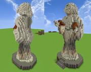 【Minecraft】学問の女神像