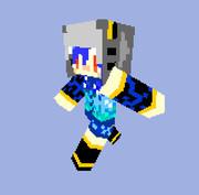 【minecraft】さめちゃん【スキン】