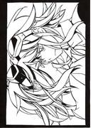 【GUMI】モザイクロール【切り絵】