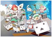 【2013】ニコニコ年賀状描いてみた【あけおめ】