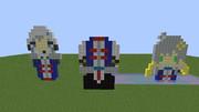 [Minecraft]バケツ祭り並べてみた