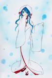 【コピック】雪ミク