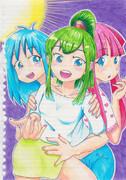 元気な3人娘!