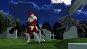 【MMD】赤毛の剣士さん冒険中【モブ式モデル】