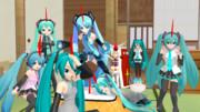 【MMD】通常の三倍の妹達!【アクセサリ配布アリ】