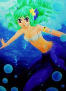 深海の人魚
