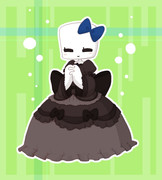ドレスのスケ子さん