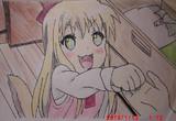 ゆるゆり3話の歳納京子を描いてみた。