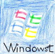 Windows七(手描き)